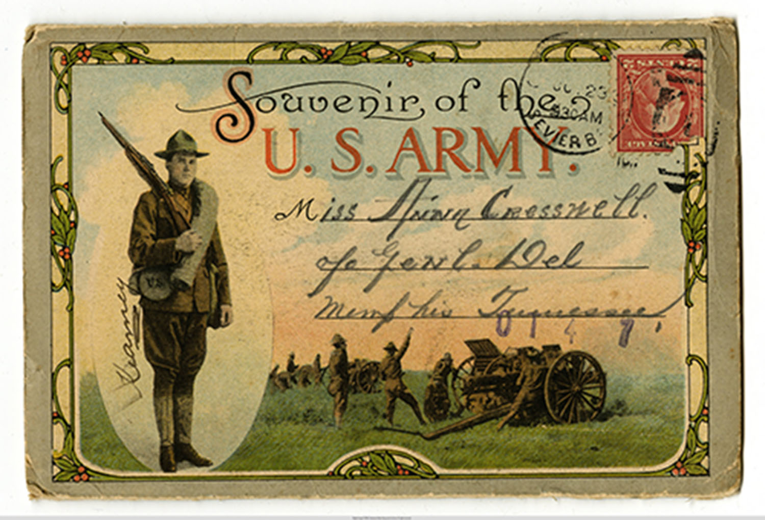 World War I Souvenir Postcard