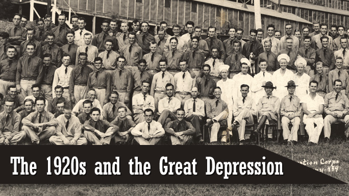The 1920s and the Great Depression