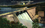 Norris Dam Postcard